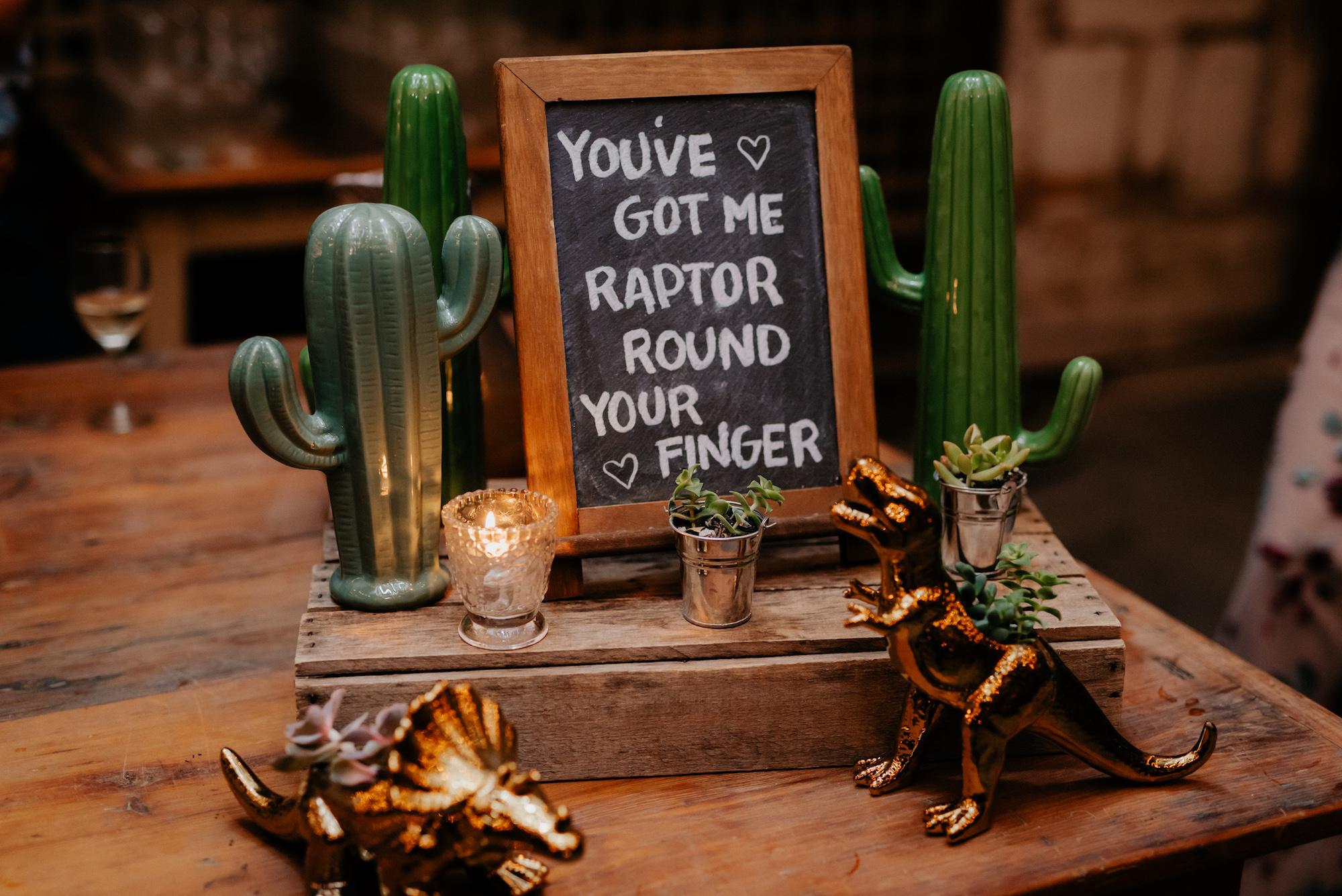 You've got me Raptor!