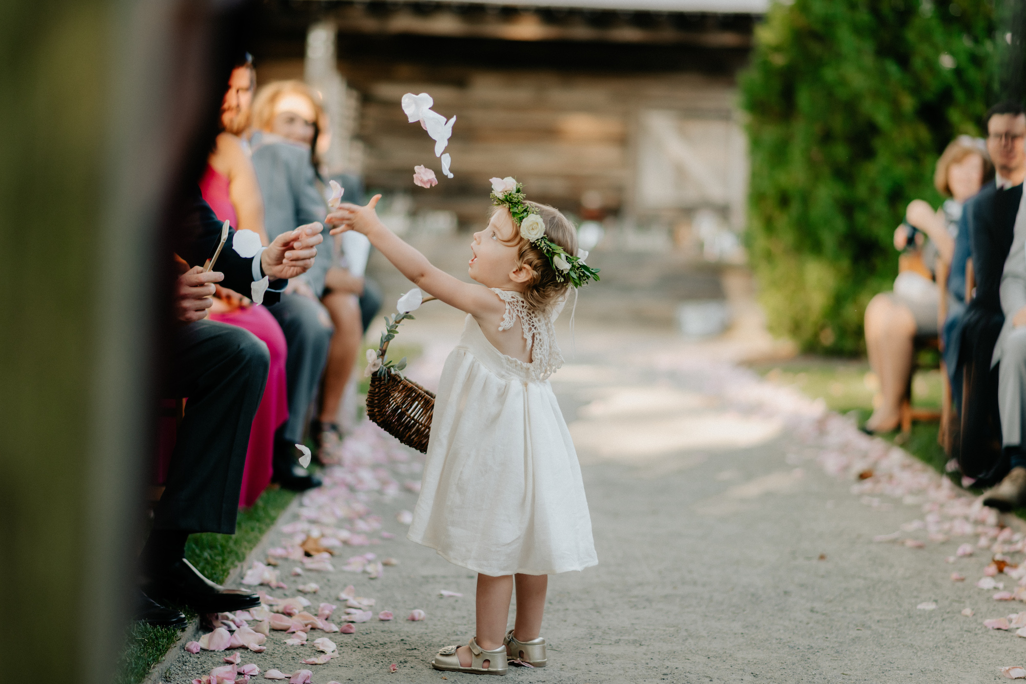 Flower Girl Toss