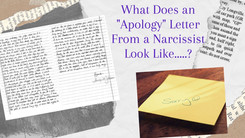"What Does an ""Apology"" Letter From a Narcissist Look Like?"