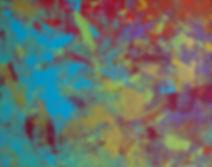 "Purple Garden Acrylic 16 x 20 "" $475 — at Austin Artspace."