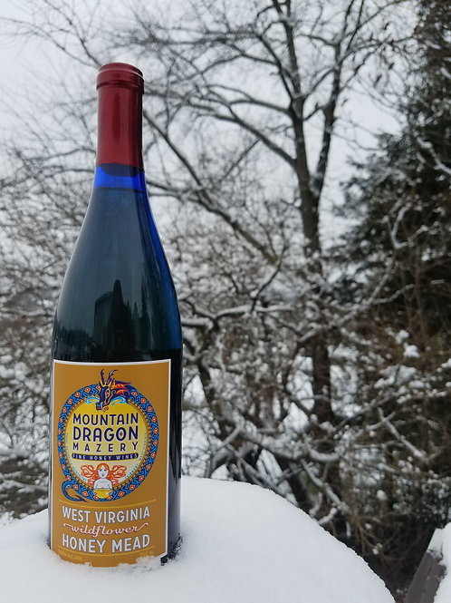 Mountain Dragon Mazery - West Virginia Wildflower Honey Mead
