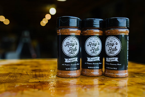 Ray's Rub (3 pack)