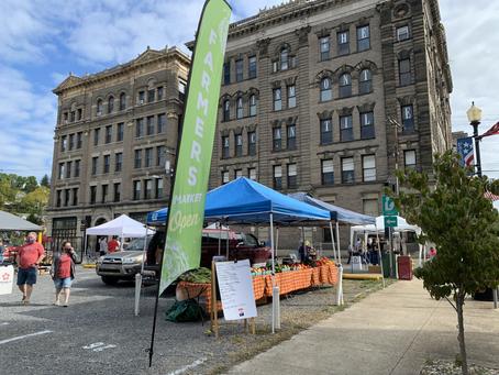 Main Street Fairmont Opens the Hometown Market Season