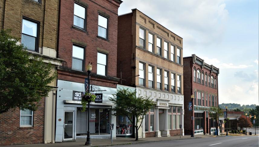Main Street Fairmont Businesses
