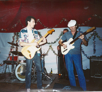 A Young Lee with the incredible Alex Chanter