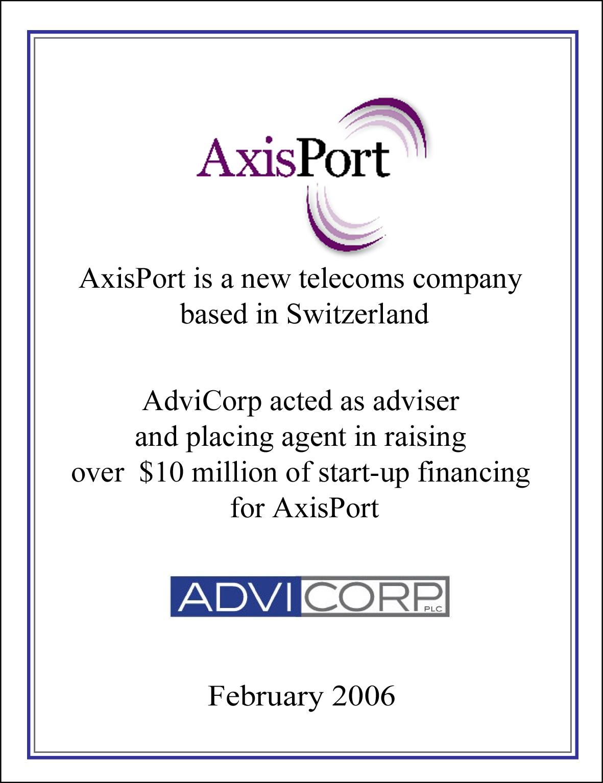 AxisPort 2006