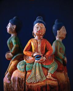 Buddha, meditating sculptures