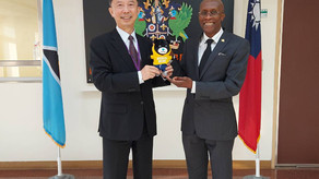 Taipei City Government pays courtesy call to Embassy of Saint Lucia