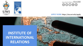 APPLICATIONS ARE OPEN for the Postgraduate Diploma in International Relations and Master of Science