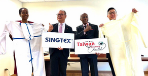 Saint Lucia Receives Donations from Taiwanese Companies