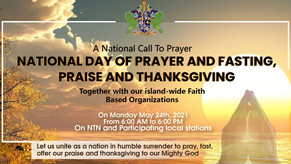 May 24th Declared National Day of Prayer and Fasting in Saint Lucia
