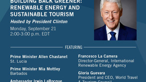 Prime Minister of Saint Lucia participates in Clinton Global Initiative Week of Action