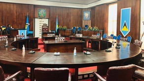 Saint Lucians witness Swearing-in Ceremony for Cabinet of Ministers