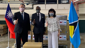 Saint Lucia receives 30 oxygen concentrators from Taiwan