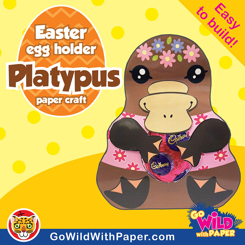 Platypus Craft Activity
