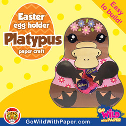 Platypus Craft Activity