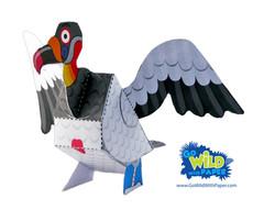 Vulture Paper Model