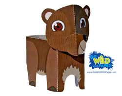 Bear Paper Model