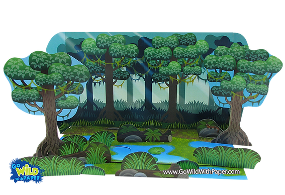 printable wetlands diorama project