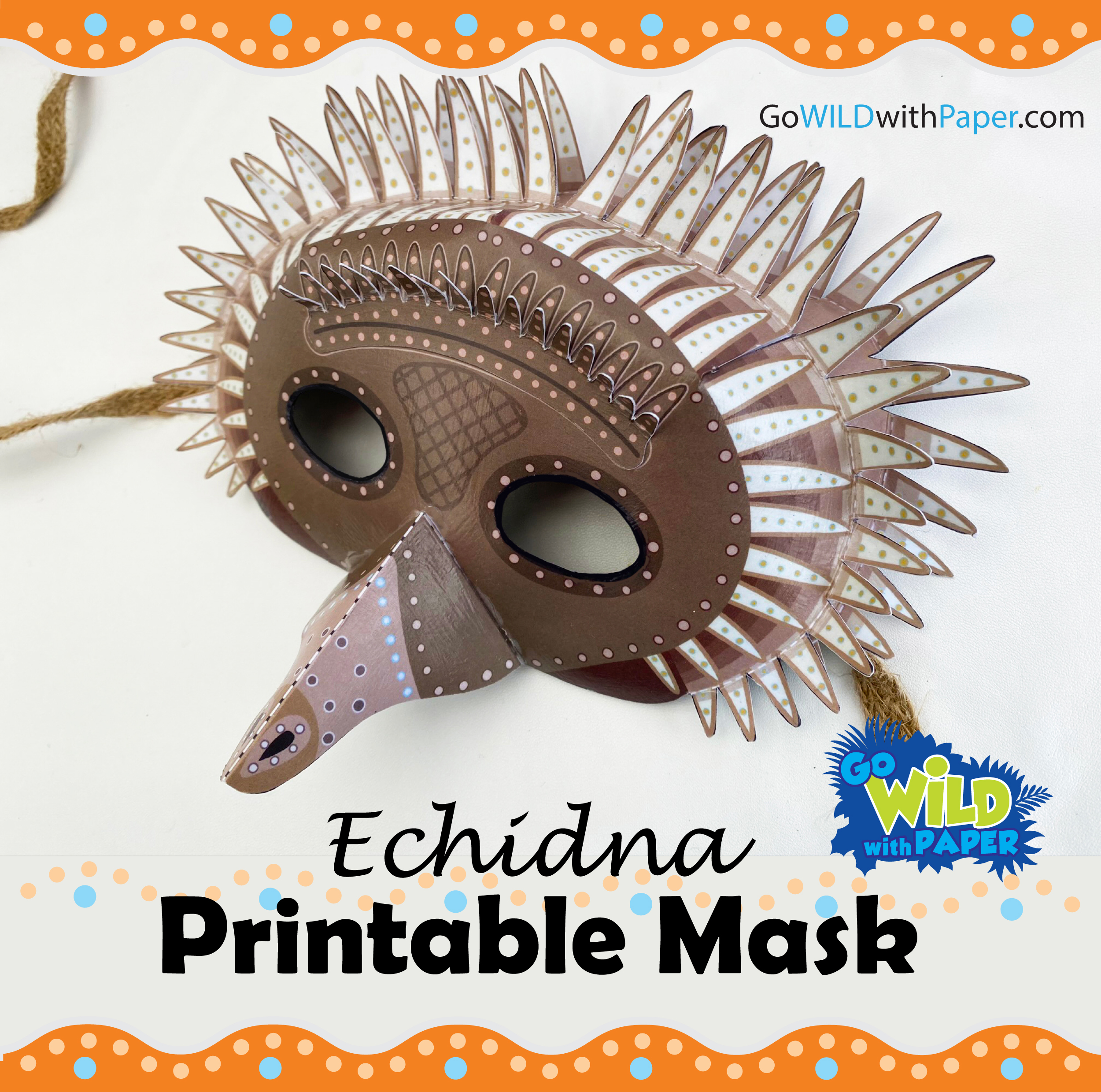 Echidna Mask