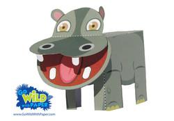 Hippo Paper Model