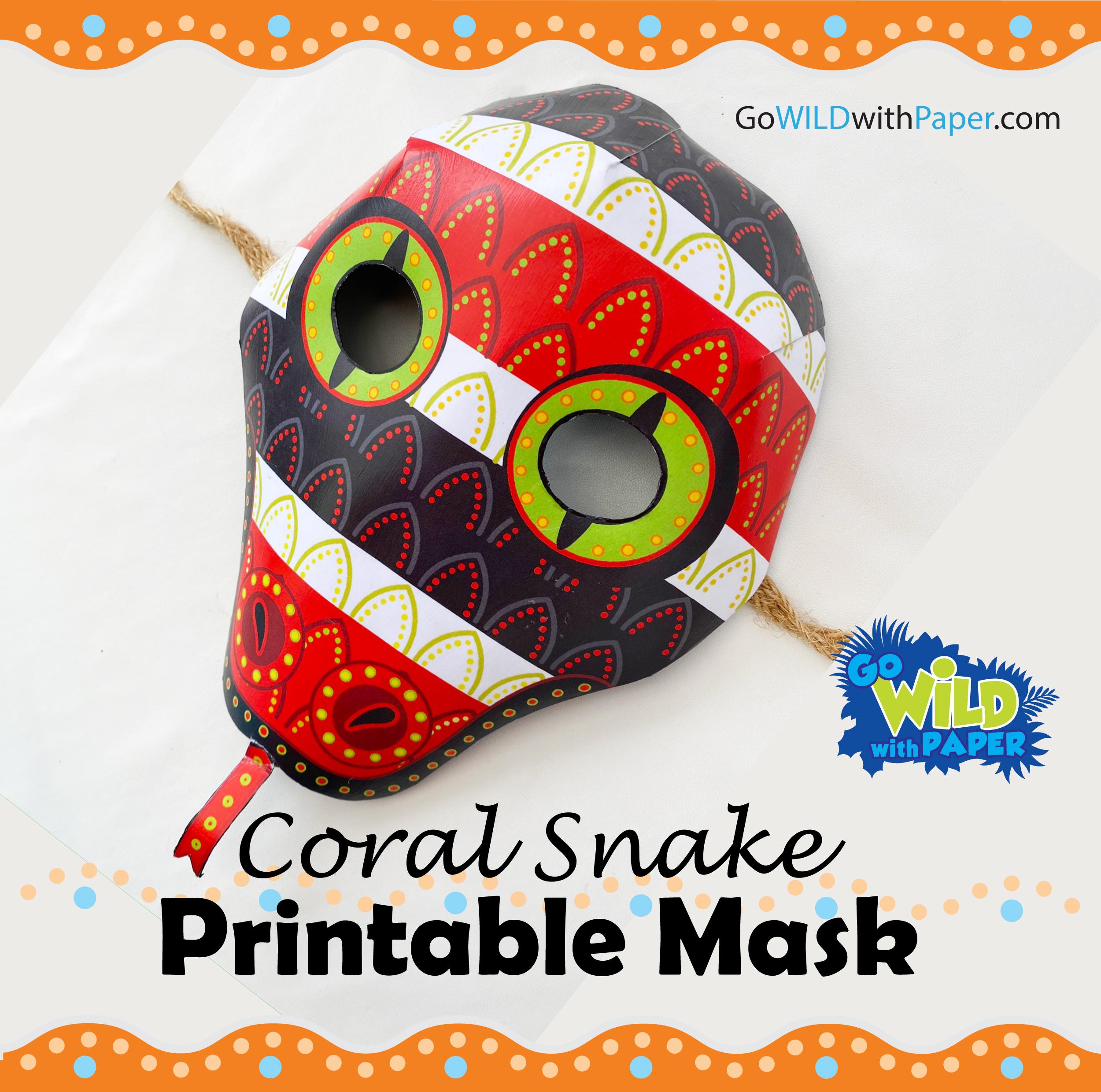 Coral Snake Mask