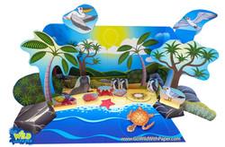 Coastal Beach Diorama Project