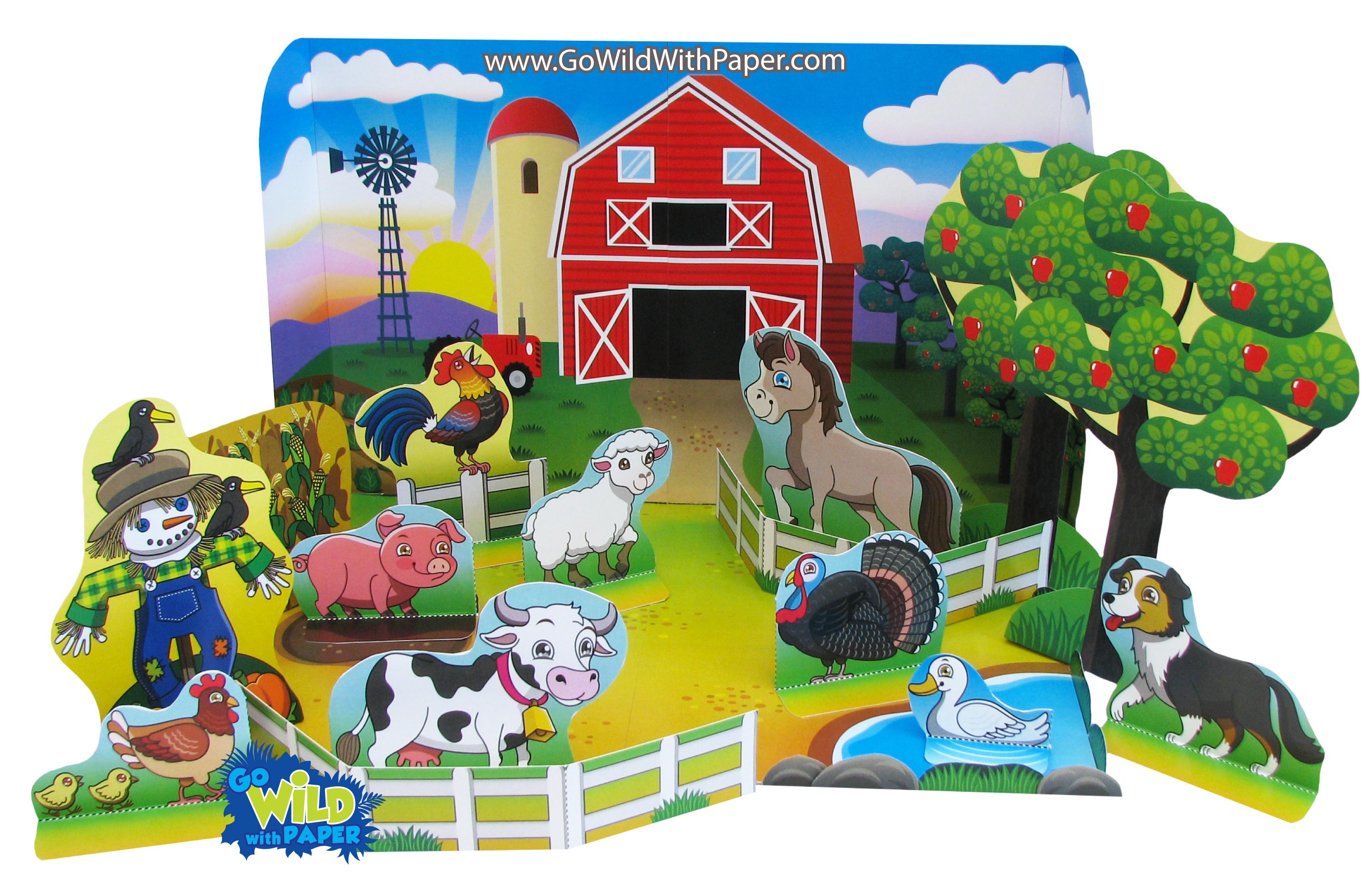 Farm Diorama Project