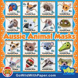 Australian Animal Mask BUNDLE