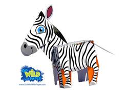 Zebra Paper Model