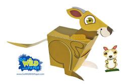 Kangaroo Paper Model
