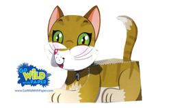 Cat Paper Model
