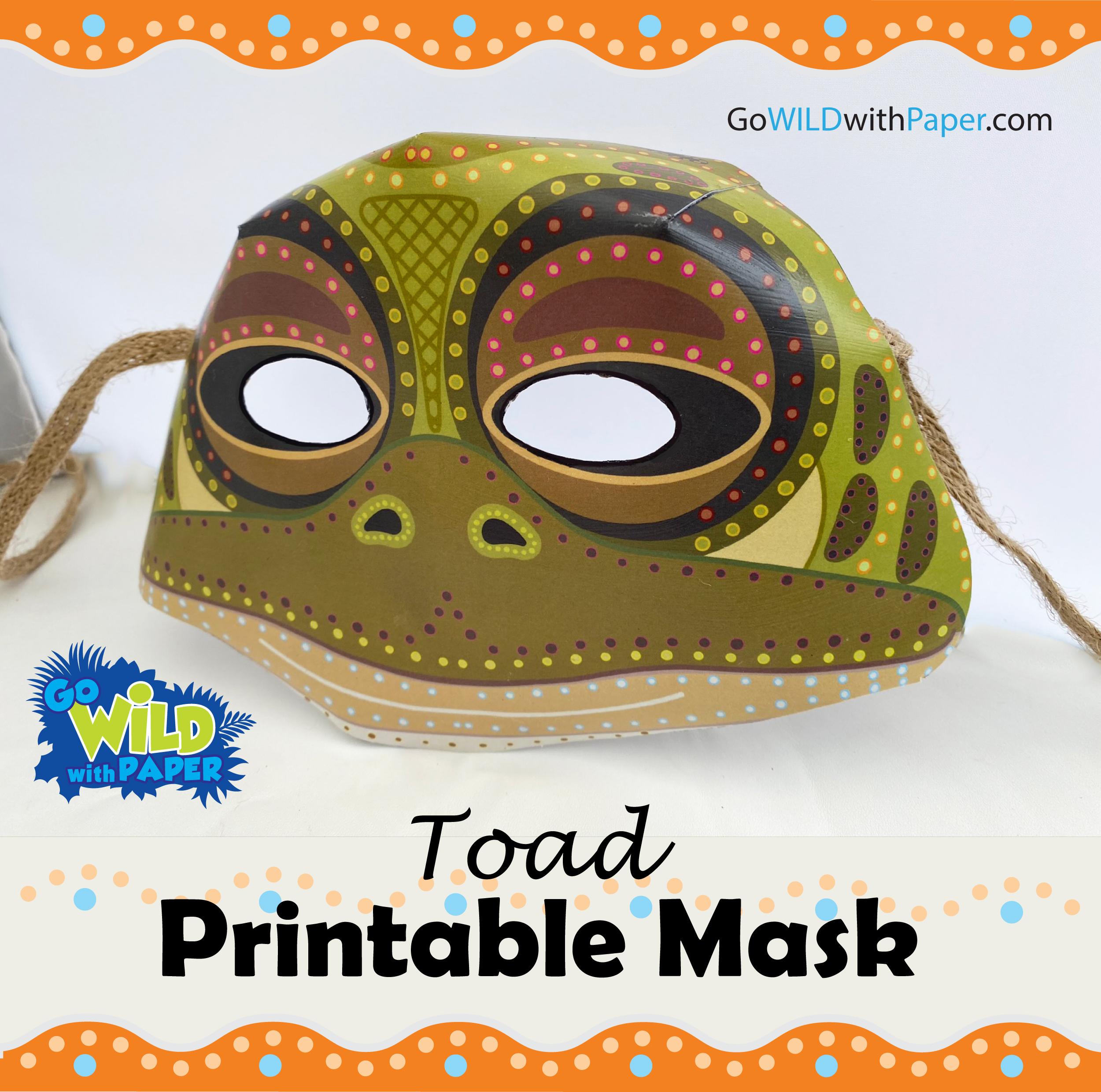 Tiddalik the Frog Mask / Toad Mask