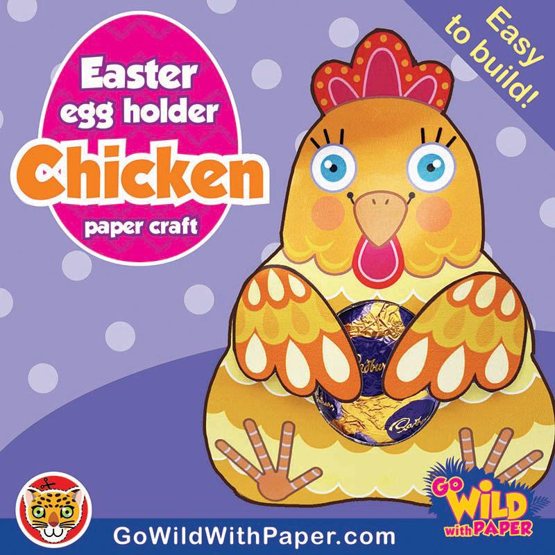 Easter Chicken Craft Activity