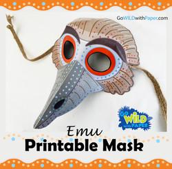 Emu Mask