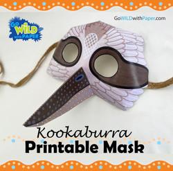 Kookaburra Mask