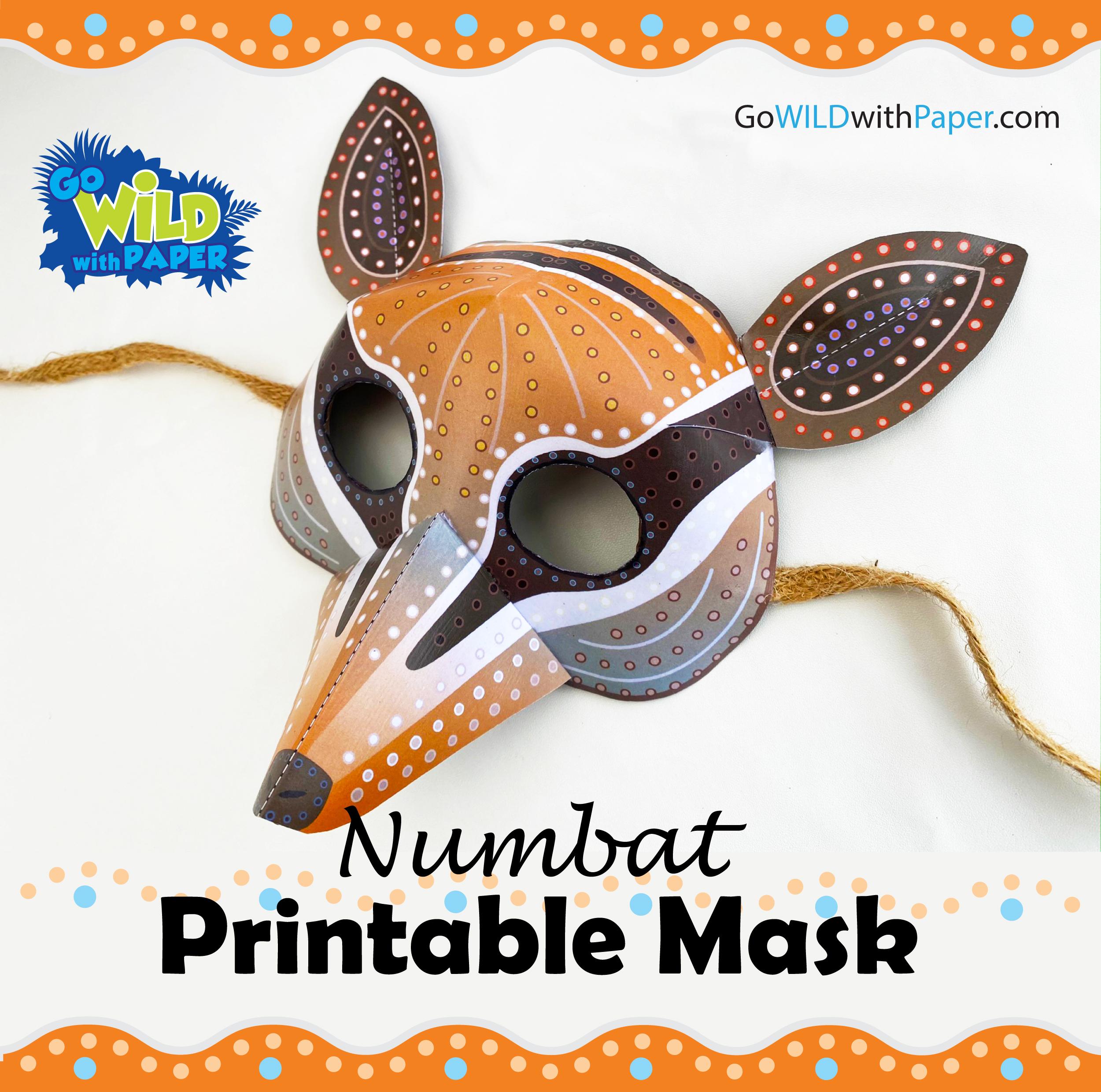 Numbat Mask