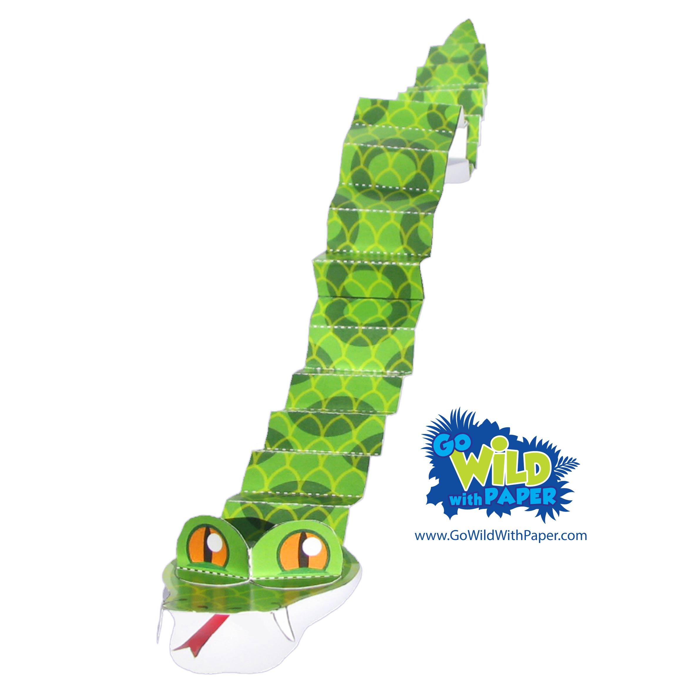 Snake Paper Model