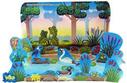Pond Diorama Project