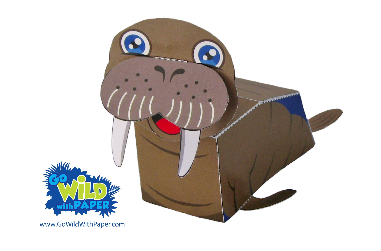 Walrus Paper Model