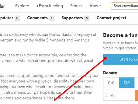 #MoveMomentumMarch - How To Create Your Own Fundraiser