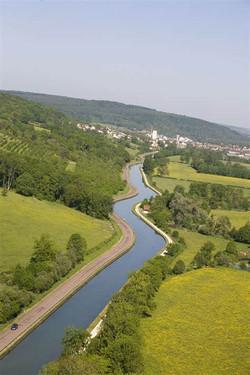photo aerienne canal