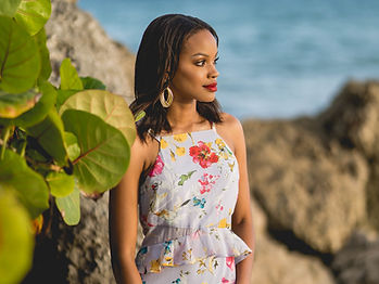 Photoshoot in Barbados at sunset