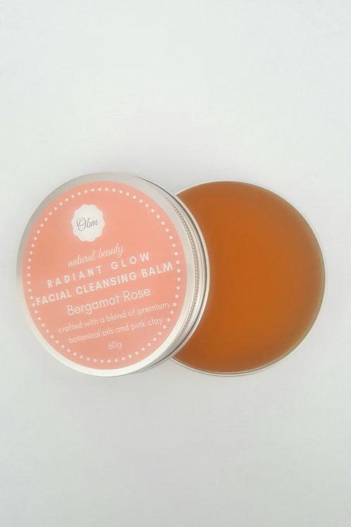 Radiant Glow Facial Cleansing Balm Bergamot Rose
