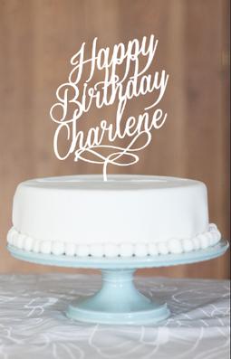 Happy Birthday Charlene Cake