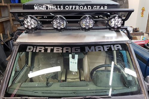 DiRTBAG MAFIA Windshield Banner CURVED