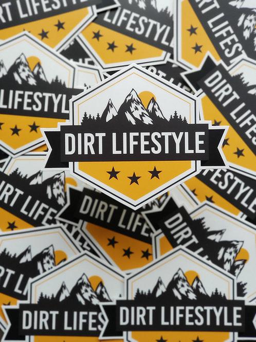 Dirt Lifestyle Logo Sticker