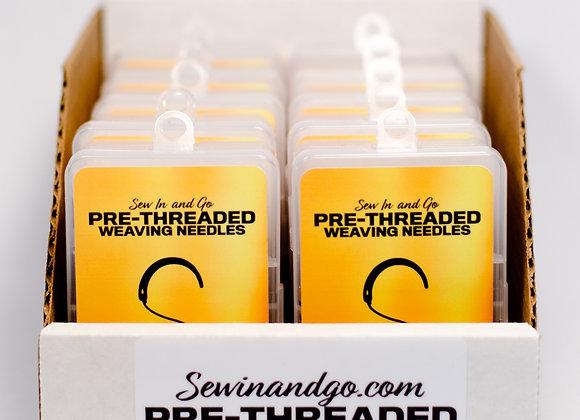 Case of Pre-Threaded Weaving Kits (10 kits per case)