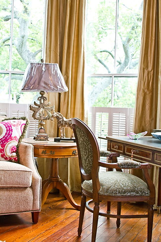 Interior Designer Savannah GA, custom kitchens Savannah GA, window treatments, draperies, fabric
