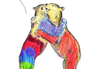 Bear Hug-in-a-Card for Hug A Hospital